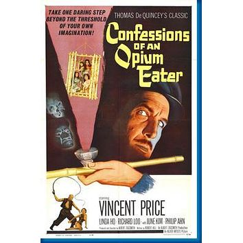 "Confessions Of An Opium Eater poster 24""x36"""