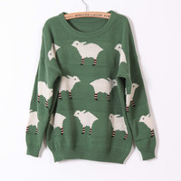 Cute sheep sweater-EMS