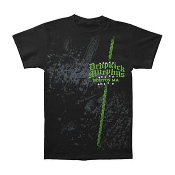 Dropkick Murphys Men's  Crowd T-shirt Black Rockabilia