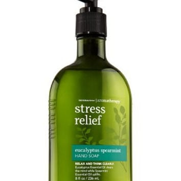 Bath & Body Works Aromatherapy Original Eucalyptus Spearmint Stress Relief Hand Soap 8 oz (236 ml)