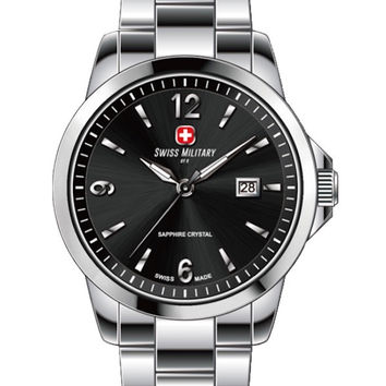 Swiss Military by R 54006 3 N Alpha Women's Watch Black Dial Swiss Made