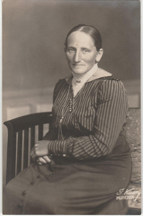 Portrait Photography Old Lady Photo 1920s From