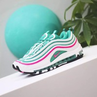 Nike Air Max 97 South Beach Fashion Running Sneakers Sport Shoes