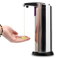 Ship From USA! Sensor Soap Dispenser Stainless Steel Automatic Hands  Wash Machine Portable Motion Activated w/Stand