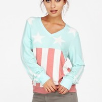 STARS & STRIPES VNECK BAGGY BEACH JUMPER