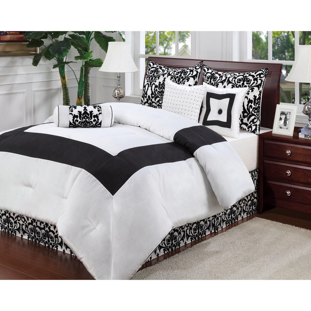 whitney 7 piece comforter set from overstock my most popular. Black Bedroom Furniture Sets. Home Design Ideas