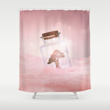 Saving Nature II Shower Curtain by vivianagonzlez
