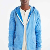 BDG Gym Raglan Zip Hooded Sweatshirt-