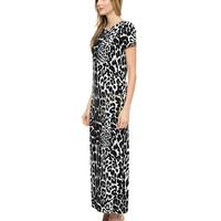 Iconic Leopard Maxi Dress by Juicy Couture