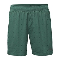 "Men's 7"" Class V Pull-On Trunks in Smoke Pine Tent Print by The North Face"