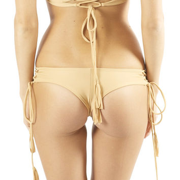 Kaohs Swimwear Gypsy Bikini Bottom in Sand