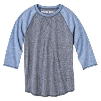 Mossimo Supply Co. Men's Baseball Tee Shirt