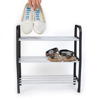 Superior 3 Tiers Plastic Shoes Rack Storage Organizer Stand Shelf Holder Unit Light  BS