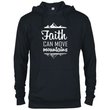 Faith Can Move Mountains French Terry Hoodie