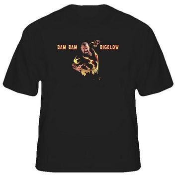 Bam Bam Bigelow Wrestling Legend T-Shirt