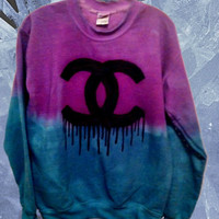 Custom Colors Ombre Dipdyed Demise Sweatshirt