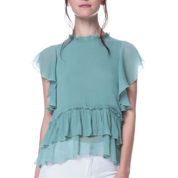 Premium Collection - Seafoam Top