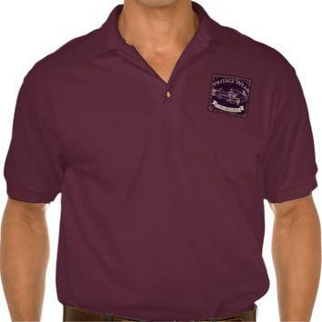 Vintage Wear - Classis American Muscle Polo Shirt