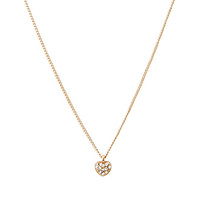 FOREVER 21 Miniature Heart Charm Necklace