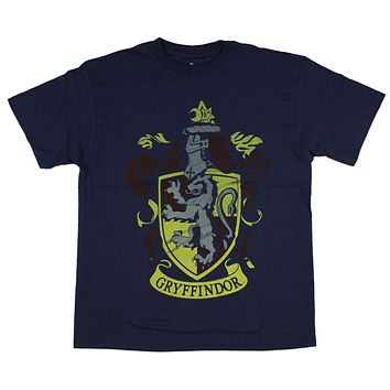 Harry Potter Gryffindor Faded Crest Youth T-shirt