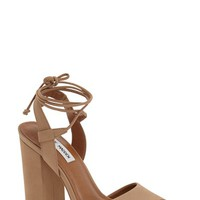 Steve Madden 'Serrina' Block Heel Lace Up Sandal (Women) | Nordstrom