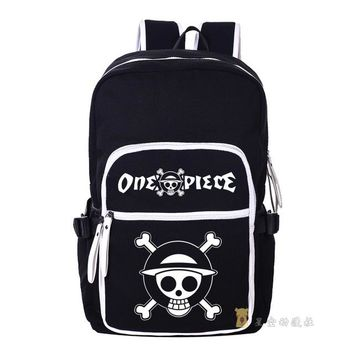 Japanese Anime Bag  One Piece Cosplay  men and women computer backpack travel backpack child birthday gift AT_59_4