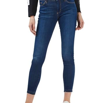 TOPSHOP | Leigh Released Hem Skinny Jeans | Nordstrom Rack