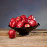 Decorative Red Delicious Apple from SilkFlowers.com