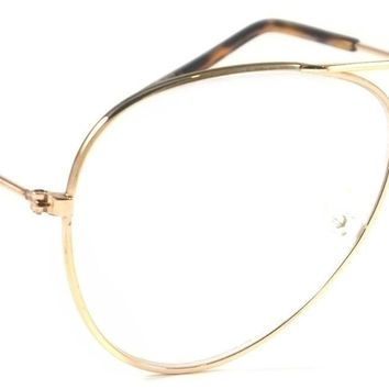 Retro Reading Glasses Classic Aviator Voyager Style Vintage Metal Frame