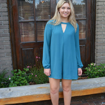 Epic Love Teal Romper