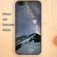 Sunrise on the snowy mountain colorful iphone 6 6 plus iPhone 5 5S 5C case Samsung S3,S4,S5 case Ipod Silicone plastic Phone cover Waterproof