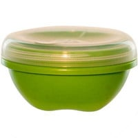 Preserve Small Food Storage Container - Green - Case of 12 - 19 oz