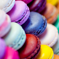 Macaron Art Print by Electric Avenue