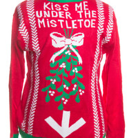 Red Ugly Christmas Pullover 44588 - The Sweater Store