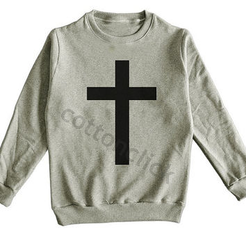 Art Cross Tshirt Cross Shirt Jesus Shirt Hipster Shirt Symbol Cross Tee Unisex Shirt Men Shirt Women Shirt Sweater Jumper Long Sleeve Shirt