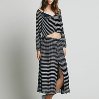 Free People Womens Striped Set