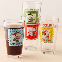 Peanuts Christmas Pint Glass Set - Urban Outfitters