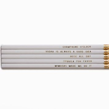 Beverage Pencil Set