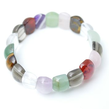 12 Assorted Quartz Stretch Bracelets (unit Price $ 8.00)