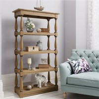GALLERY COTSWOLD OPEN DISPLAY CABINET 4