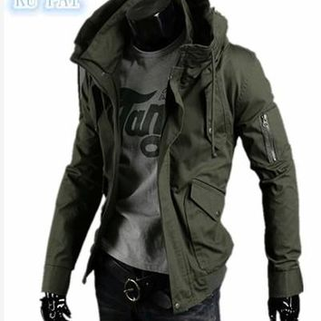 Leisure Thin Jacket for Men