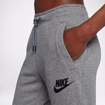 nike fashion women casual sport pants sweatpants-1