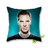 Benedict Cumberbatch Blue eye Square Pillow Cover