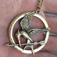 HOT STYLEThe Hunger Games pendant Inspired by qizhouhuang on Etsy
