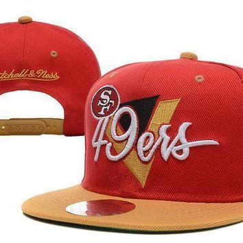 San Francisco 49ers Snapback Nfl Football Cap M&n