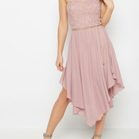 Garden Soiree Hanky Hem Dress | High Low Dresses | rue21