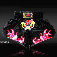 Mens MMA Muay thai shorts Boxing shorts Sanda Shorts Combat Pants Shorts Multiple Style Boxeo