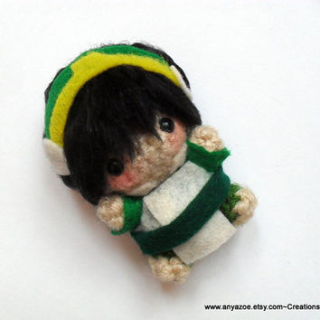 Toph Amigurumi by AnyaZoe on Etsy