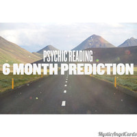 Psychic Reading- 6 Month Prediction Reading, What will the next six months bring? Accurate and in-depth reading, video or email