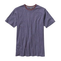 Patagonia Men's Daily Tee | Backhand: Dark Currant